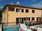 Villa Pineta, view from sunbathing terrace