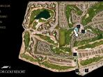 Master plan of resort