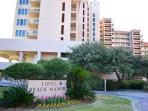 Beach Manor 110 Resort Entrance Gibson Beach Rentals