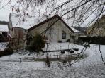 Leb gîte sousv la neige