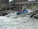 National White Water Center ride the rapids olympians train on.