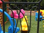 The new  safe playground at Villa Nuba vacation rentals