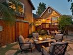 Secluded backyard oasis