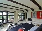 Master Bedroom balcony features ocean views