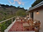 Outdoor Living Room on deck