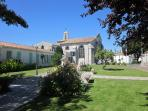 St Geogres d'Oleron - nearest town to the campsite