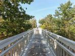 Boardwalk to Lake Michigan