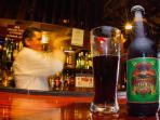 Enjoy a Brazil-nut Beer in the bar of Refugio Amazonas