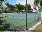 Leeward cove tennis court