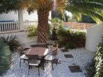 Attractive and private garden