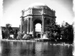 Visit the historic Palace of Fine Arts