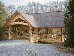 on site pavillion-perfect for weddings