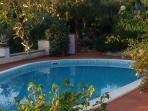 Particolare della piscina privata