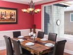 Have dinner as a group in the formal dining room