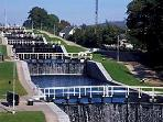 Local Landmark 'Neptune's Staircase' on the Caledonian Canal
