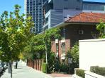 Walk to the Perth CBD