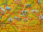 The Cotswolds right on our doorstep!