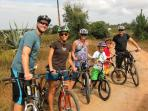 Guided bike tour with Sandytoes Algarve