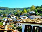 Sirince, an orthodox small village from the 15th Century in the middle of the hills at 30min