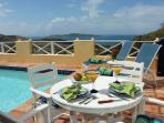 Sea View - Stunning Views & Villa Elegance - Heated Private Pool - All amenities
