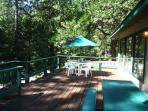 Spacious Blue Lake Springs Home with privacy.Great for a multi-family getaway
