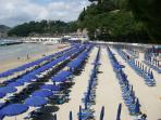 The golden beaches at Lerici