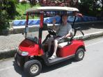 Electric Cart for rent regular $39.00 / day, special $35.00 / day