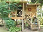 Relax in our Masage Tree House Hut