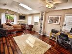 Master Bedroom with brand new hardwood floors