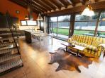 kitchen's living room