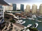 Ocean Village Marina, casino, restaurants and bars all on your doorstep