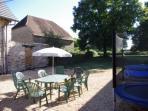 Limousin Farmhouse - Courtyard
