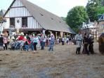 The Medieval Fest in Clères