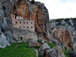 Monastery Avgo - extreme trip - ideal for rock climbing
