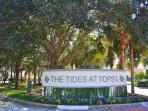 Tides Resort Entrance