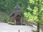 Chapel in the back of the community may be rented for weddings or retreats