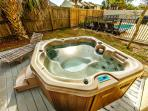 Backyard Hot Tub!
