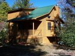Cherokee Rose is a Cozy secluded Cabin for a perfect romantic getaway