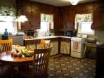 ...we even provide the fixin's for a hearty farm-style breakfast for you and your family.