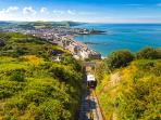 Aberystwyth's Cliff Railway offers amazing views over town and coast