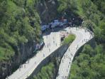 Tour de France and the famous 21 bends.