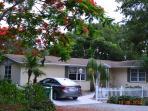 Coastal Cottage in Tropical Garden Paradise