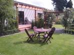 Front veranda from garden
