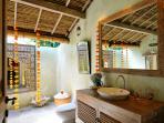 guest indoor/outdoor bathroom