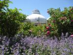Allen Gardens park and Botanical gardens, a local landmark