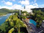 The house, pool, and view - a wonderful escape for families, friends, or couples...