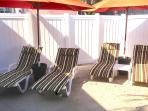 Sun Lounge area is enclosed and shared with only 3 other villas.