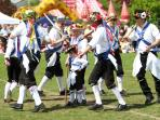 Chobham Morris men - they will let you have a go!