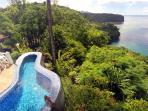 Featuring a private, romantic plunge pool...