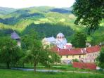 Close is the Studenica Monastery